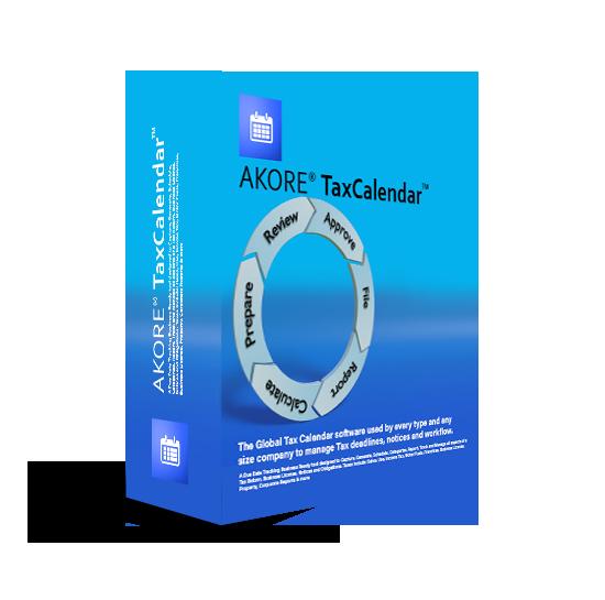Akore Tax Calendar Software